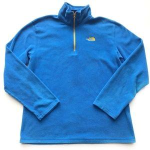 North Face Fleece Pullover Shirt mens Size Med